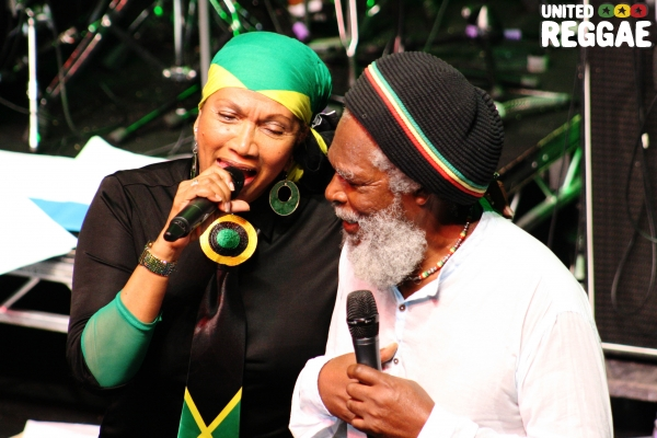 Marcia Griffiths and Bob Andy © Phunked-up Photography
