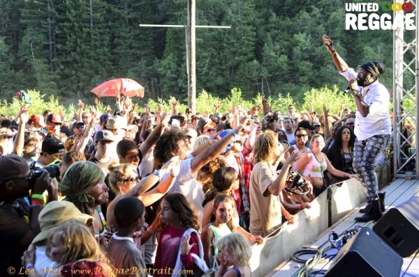 Fantan Mojah © Lee Abel   Reggae on the River 2012   8251