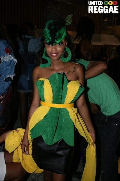 Winner of Jamaica's 50th Independence costume © Steve James