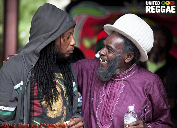 Prince Alla and Ikonik Bassie © Sista Irie