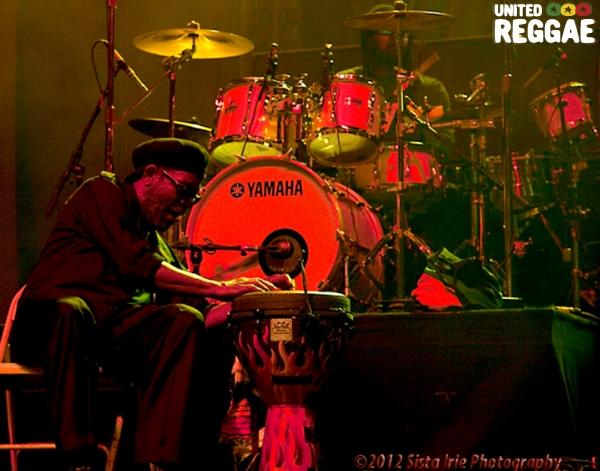 Bunny Ruggs drums © Sista Irie