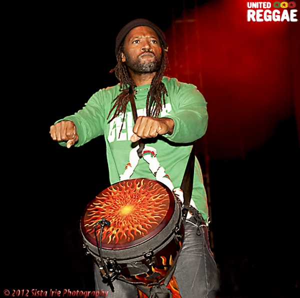 Third World drummer© Sista Irie