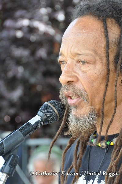 Kiddus I / Sound check © Catherine Fearon