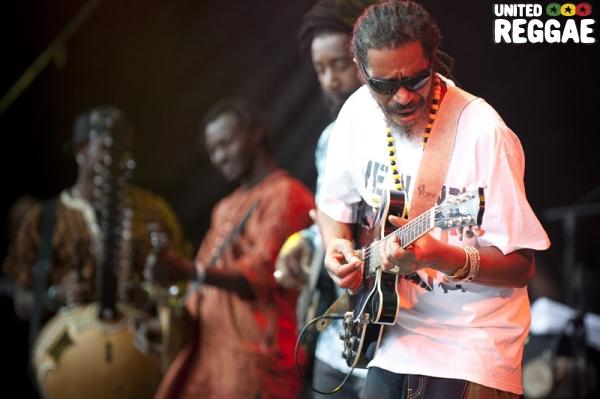 Tiken Jah Fakoly band © Michael Grein