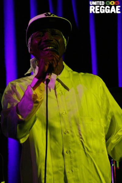 Errol Dunkley at Brixton Hootananny © Emma-Louise