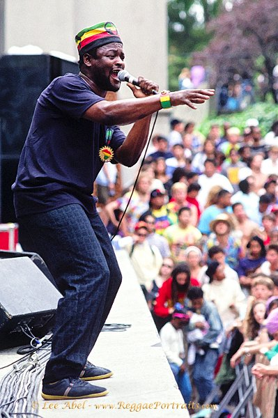 Sugar Minott / Sunsplash USA tour, Berkeley, California - 1989 © Lee Abel