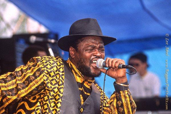 Sugar Minott / Sunsplash, Jamaica - 1992 © Lee Abel