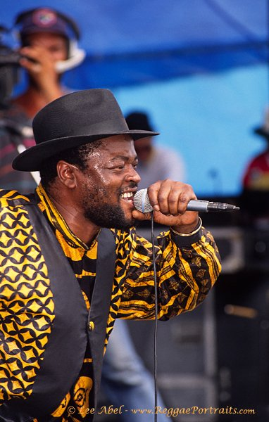 Sugar Minott / Sunsplash, Jamaica - 1992 © Lee Abel