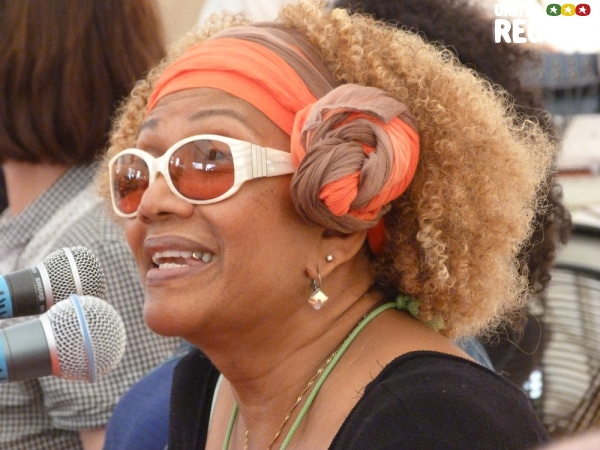 Marcia Griffiths at Reggae University 2012 © Veronique Skelsey