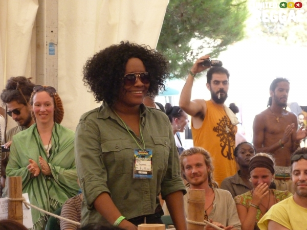 Tanya Stephens at Reggae University 2012 © Veronique Skelsey