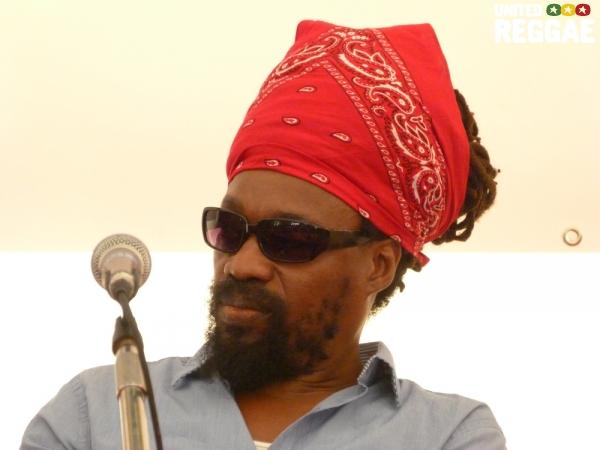 Michael Rose at Reggae University 2012 © Veronique Skelsey