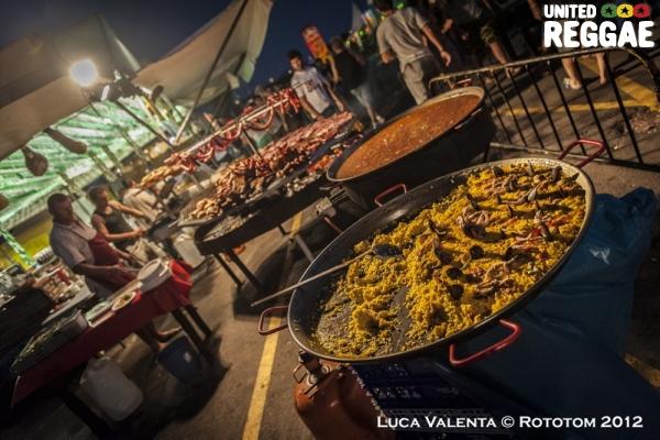 Food © Rototom 2012