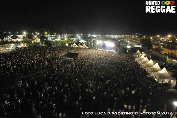 Main stage © Rototom 2012