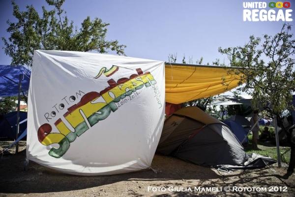 Camping © Rototom 2012