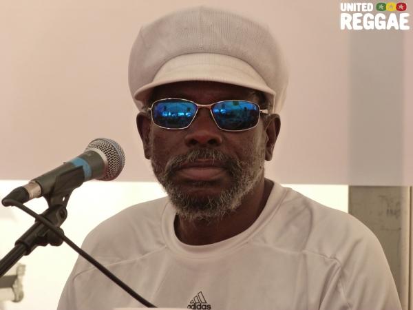 Johnny Osbourne at Reggae University 2012 © Veronique Skelsey