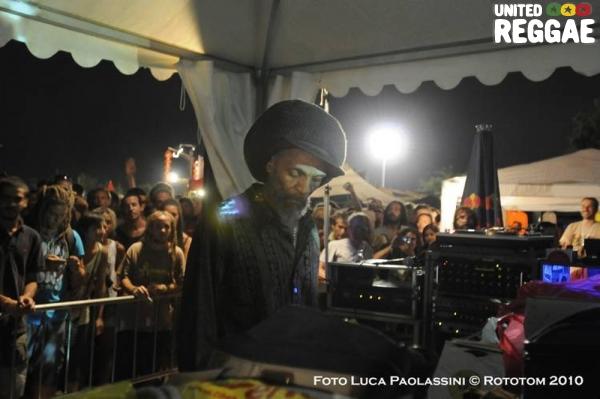Jah Shaka © Rototom 2012