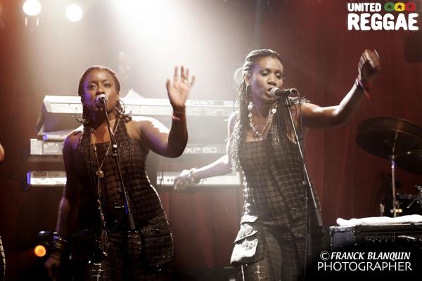 Backup singers © Franck Blanquin