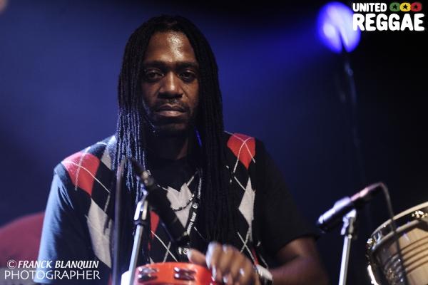 Beres Hammond percussionist © Franck Blanquin