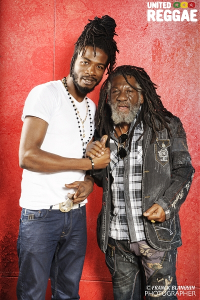 Gyptian and Winston McAnuff © Franck Blanquin