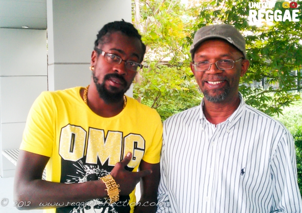 Beenie Man and Beres Hammond © Empress K / Reggae Reflection