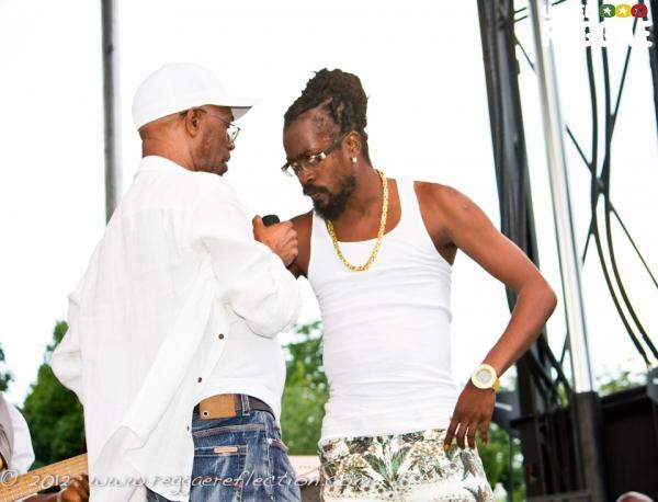 Beres Hammond and Beenie Man © Empress K / Reggae Reflection
