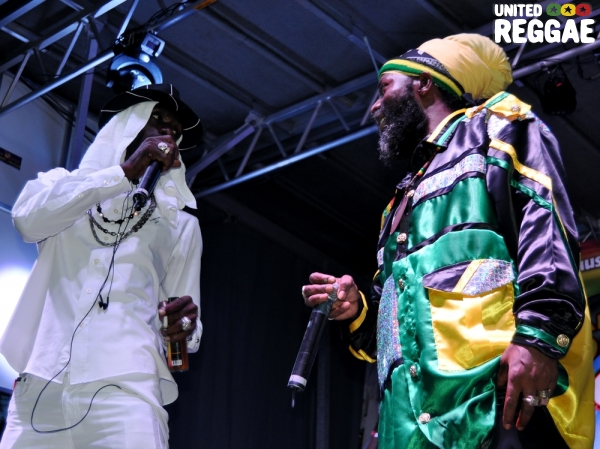 Ninjaman and Capleton © Ratiba Hamzaoui