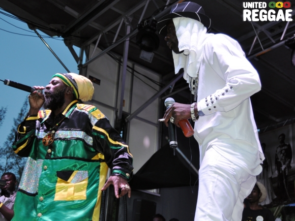 Capleton and Ninjaman © Ratiba Hamzaoui