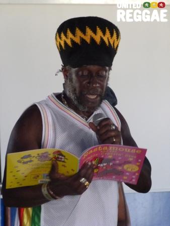 Michael De Souza reads RastaMouse © Veronique Skelsey