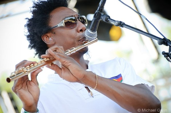 Yann aka Crazy Flute (Mo'Kalamity & The Wizards) © Michael Grein