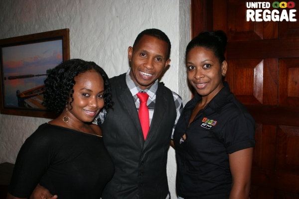 Shane Brown and the IRIE FM Team © Steve James