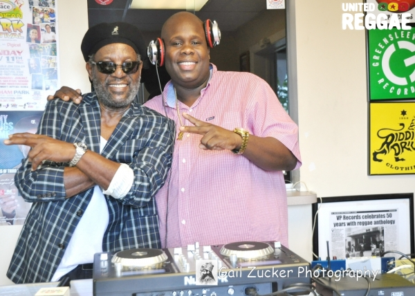 Bunny Rugs and Bigga Boss, DJ from WAVS 1170 AM Radio © Gail Zucker