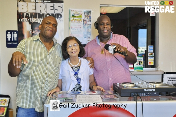 Lloyd Campbell, Miss Pat and Bigga Boss © Gail Zucker