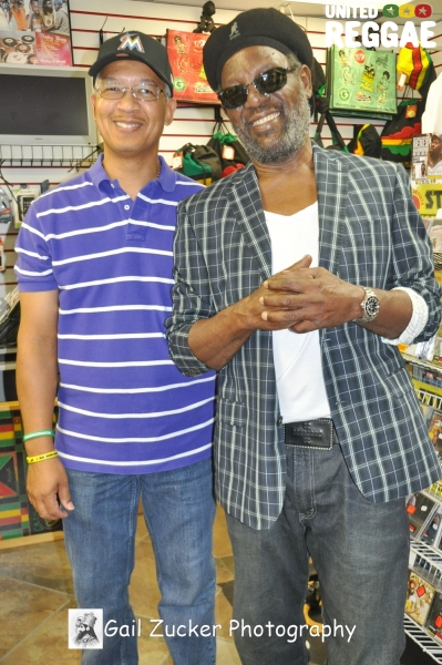 Howard Chung of VP Records and Bunny Rugs © Gail Zucker