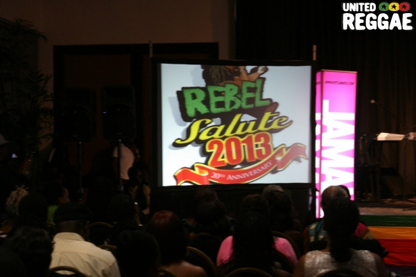 Rebel Salute 2013 logo © Steve James