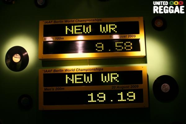 Usain Bolt's records © Steve James