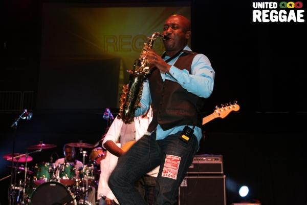 Saxophonist, Nicholas Laroque © Steve James