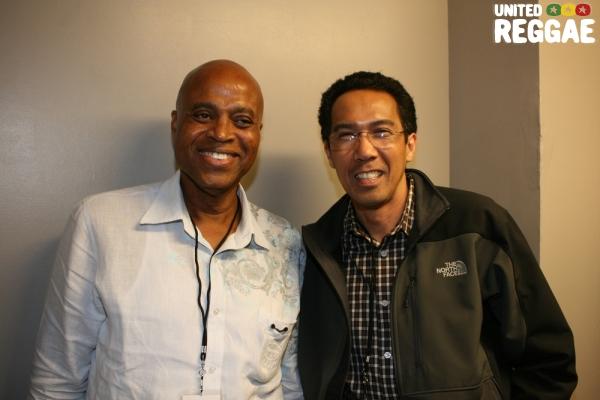 Donovan Germain and Chris Chin of VP Records © Steve James