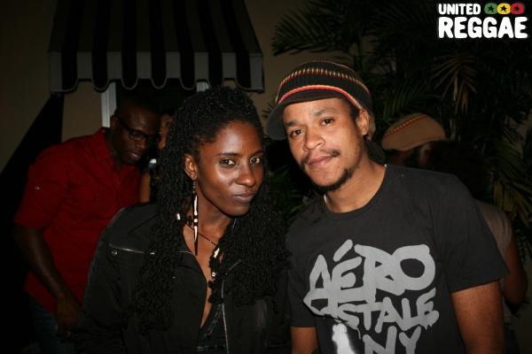 Jah9 and fan © Steve James