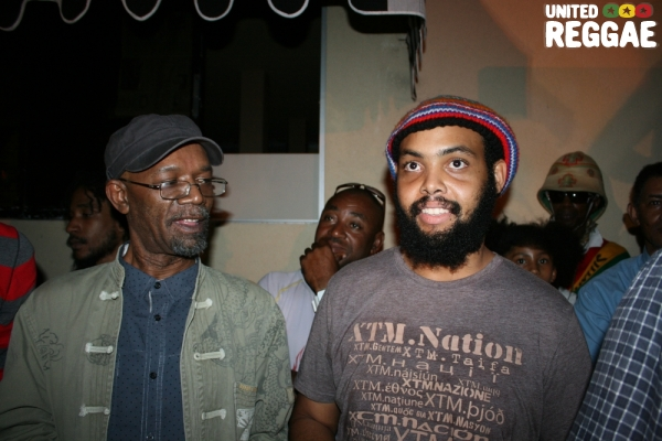 Beres Hammond and Kareem Burrell © Steve James