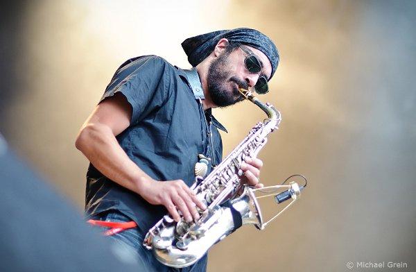 Ziggy's saxophonist © Michael Grein