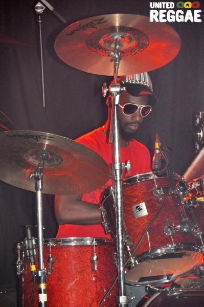 Leon Campbell (drummer) / Rootz Underground © Gail Zucker