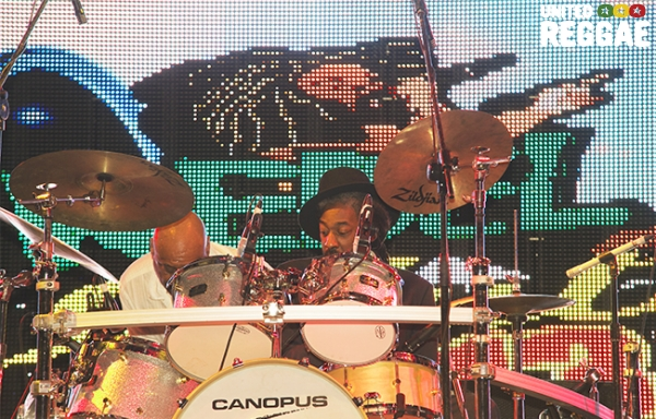 Aswad drummer © Sista Irie