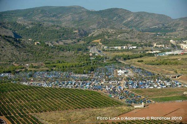 Festival area © Luca D'Agostino / Rototom 2010