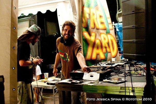 Free Yard © Jessica Spina / Rototom 2010