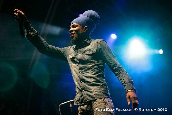 Jah Mason © Elia Falaschi / Rototom 2010