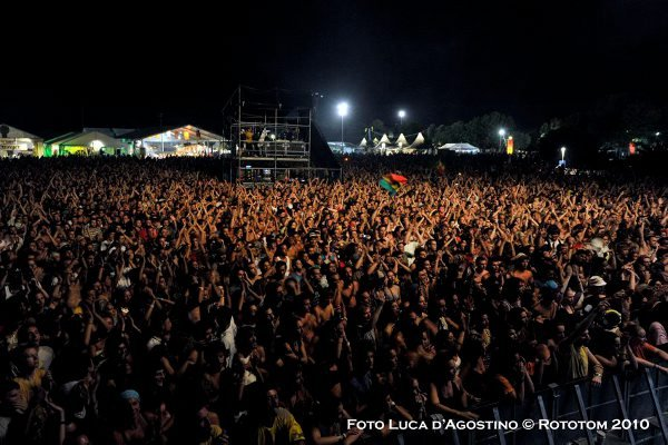 The crowd © Luca D'Agostino / Rototom 2010