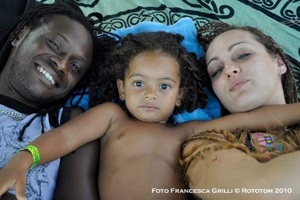 Family © Francesca Grilli / Rototom 2010