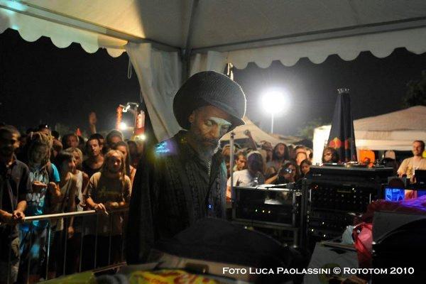 Jah Shaka © Luca Paolassini / Rototom 2010