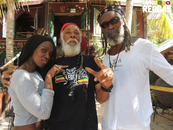 Patra, Big Youth and Bankie © Emmanuelle Bourlas