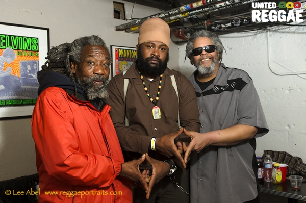 Carl T, Fantan Mojah and Spliff Skankin © Lee Abel